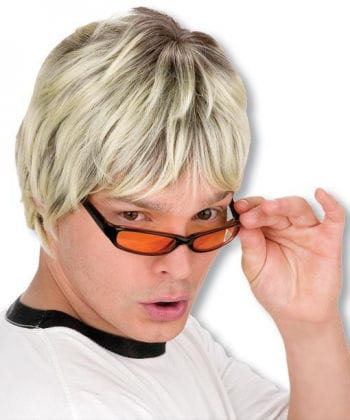 Disco bloke blond wig