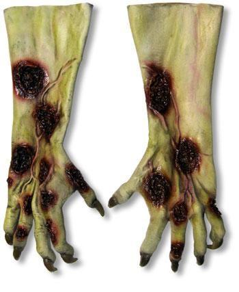 Zombie Werwolf Hände