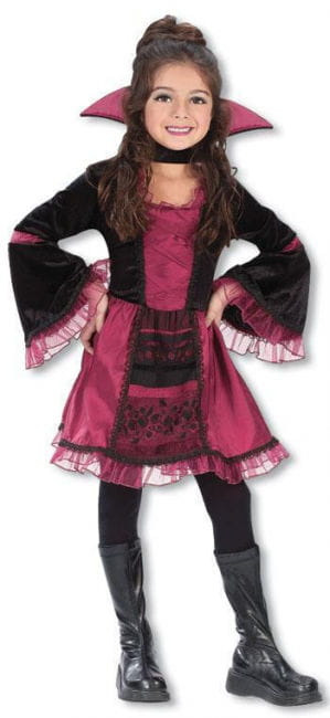 Vampire Girl Child Costume. L