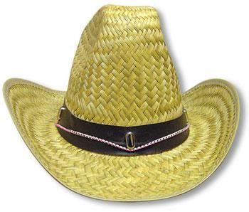Straw Cowboy Hat Gr. L