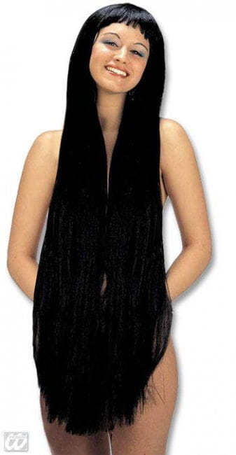 Super Long Eve Wig Black