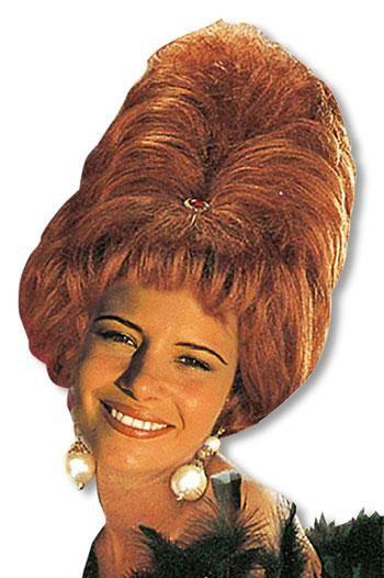 Sixties Beehive Wig Auburn