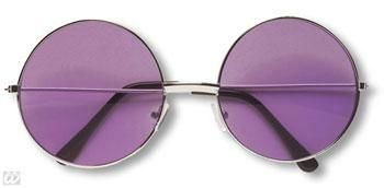 Purple 70s Sunglasses