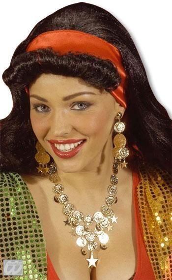 Golden Jewellery Set Esmeralda