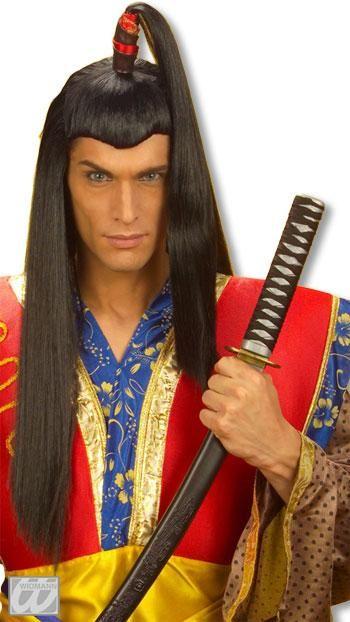 Mr. Wig Samurai with plait