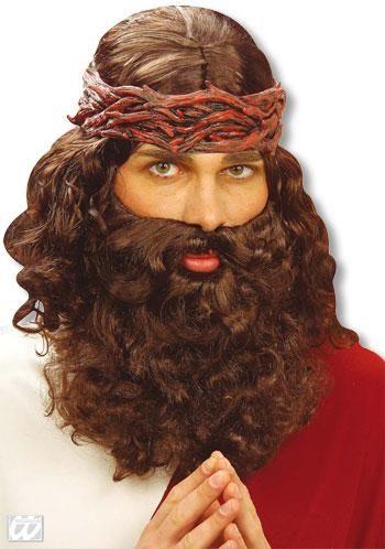 Herrenperücke Jesus with beard