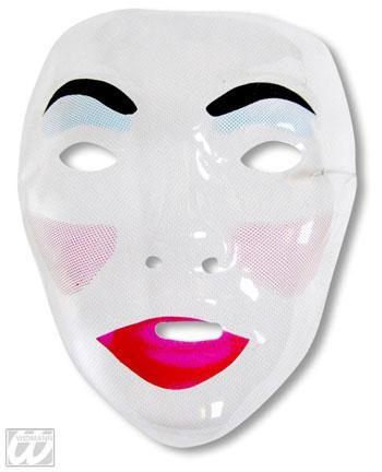 Frauen Gesichtsmaske Schmollmund
