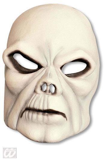 Pale Skull Half Mask