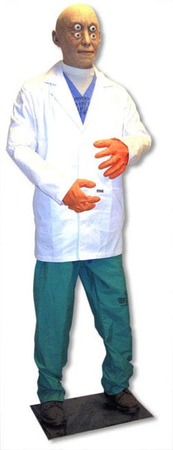 Dr. Grey Halloween Figur 180 cm