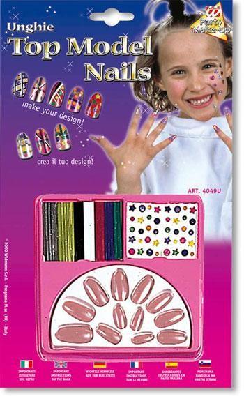 Kinder Design Nägel Altrosa