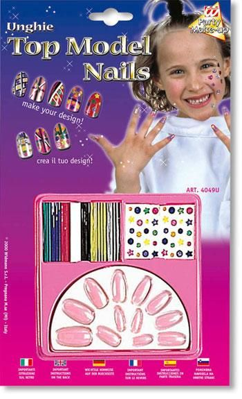 Kids Design Fingernails Light Pink