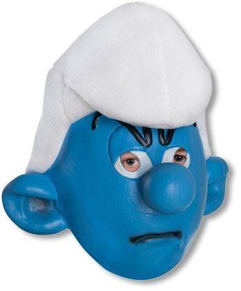 Muffi Schlumpf Maske