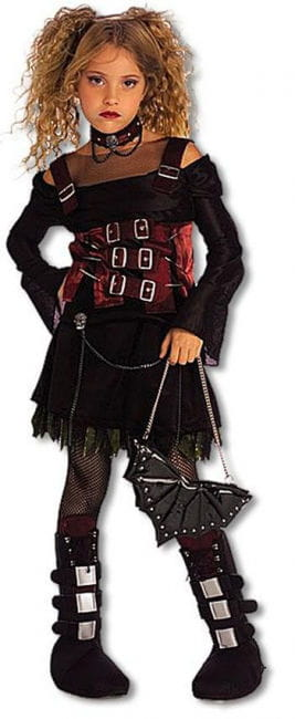 Gothic Girl Child Costume M