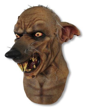 Rattenmensch Latex Maske