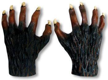 Werwolf Hände Latex Deluxe