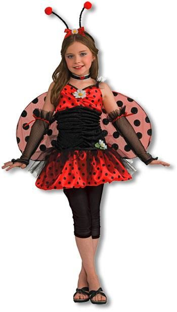 Cute Ladybug Child Costume