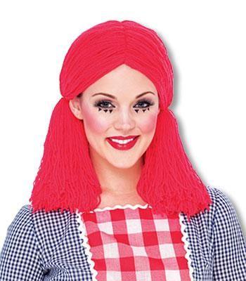 Rag Doll Puppen Perücke