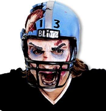Football Player Half Mask