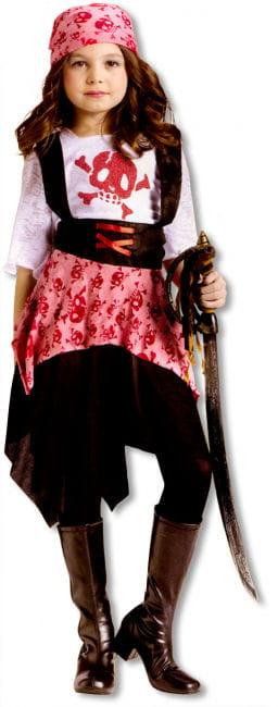 Skull Pirate Child Costume. M