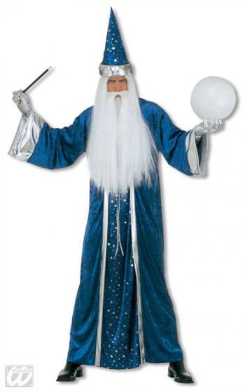 Zauberer Kostüm Blau M