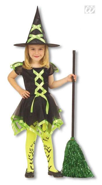 Hexen Kinderkostüm grün