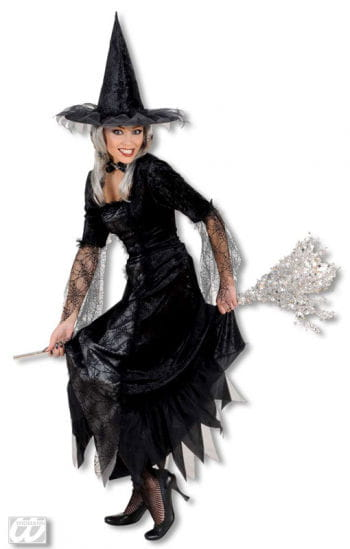 Spider Lady witch dress Deluxe M