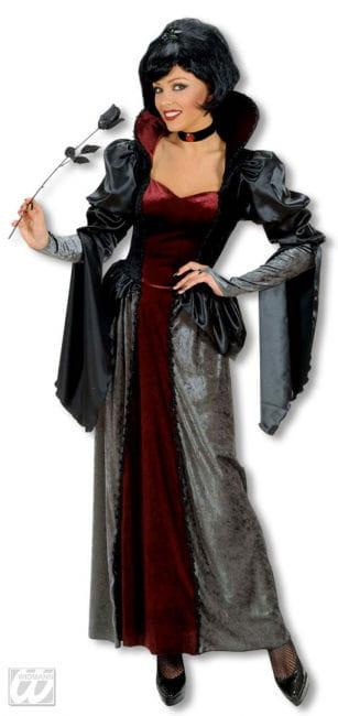 Dunkle Königin Kostüm Deluxe Medium