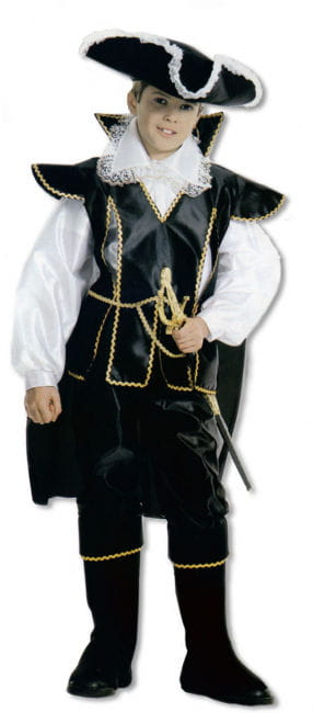 Corsairs Child Costume. M