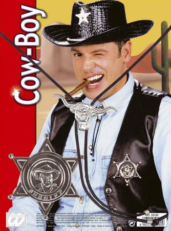 Sheriffstern mit Bolotie