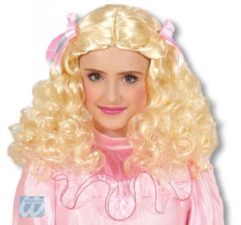 Beauty Queen Child Wig blond