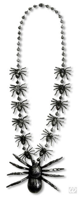 spiders necklace