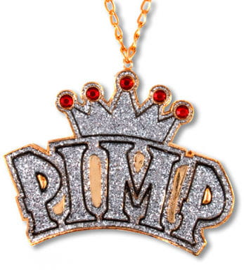 Rapper Chain With Medalion Crown