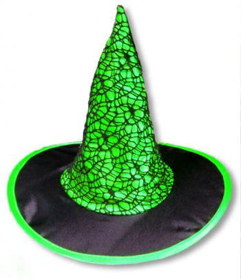 Gothic Kinderhexenhut grün