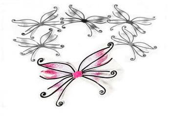 Elfenflügel rosa