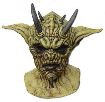 Reptilien Dämon Maske