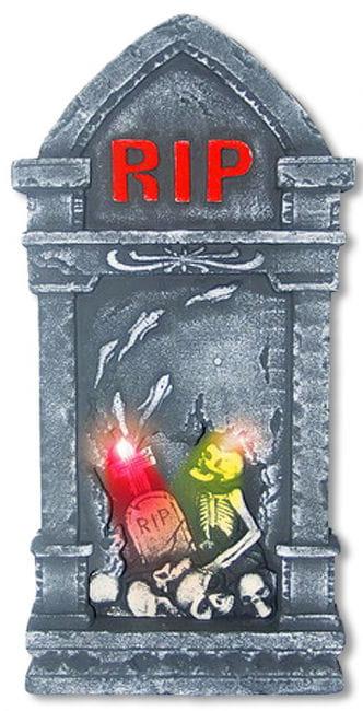 LED grave stone RIP