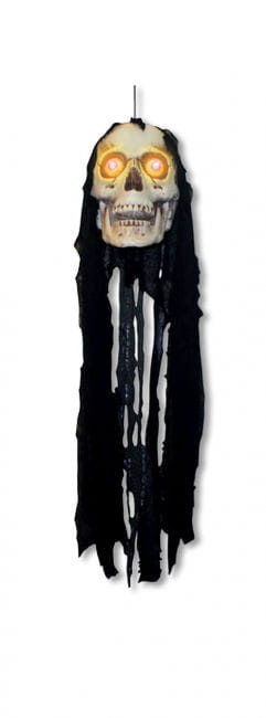 Hanging Skull with LEDs