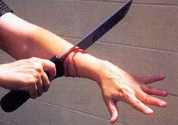 Butcher Knife Attack