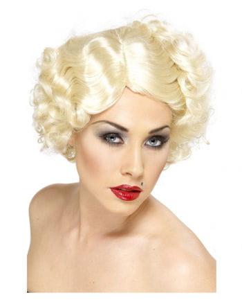 Hollywood Ikonen Perücke Blond