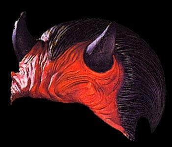 Devil Halbmaske
