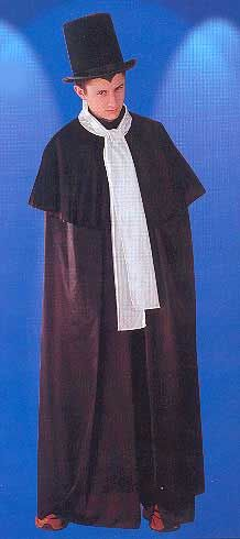 Dracula Cape with Scarf