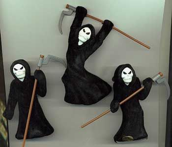 Grim Reaper Table Decoration