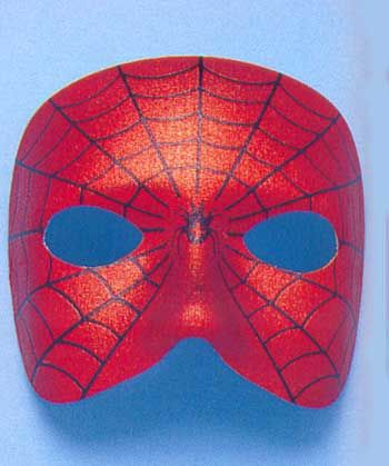 Satin Spider Mask