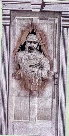 Maniac Mummy Türfolie