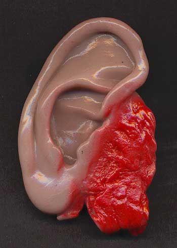 Slimy Goo ear