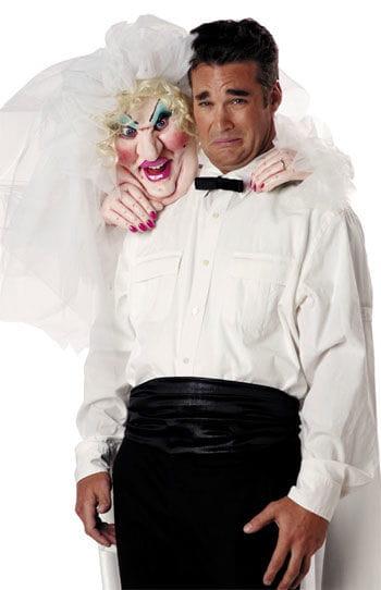 Crazy Bride Schulterwürger