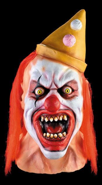 Clown Cut Up Maske