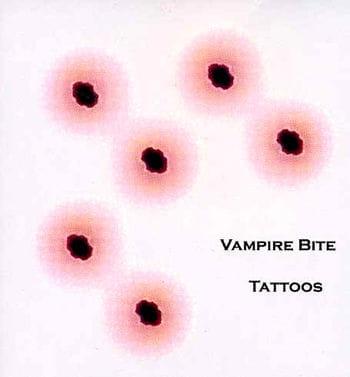 Tattoo Vampirbiss