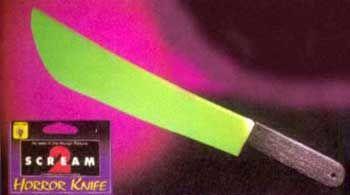 Scream Knife II (glow in the dark)