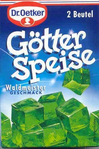 Wackelpudding Waldmeister